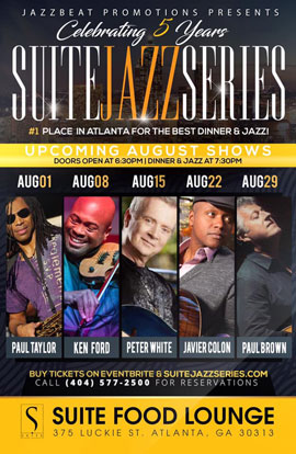 Paul Brown Jazz in Atlanta